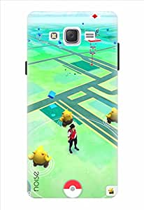 Noise Designer Printed Case / Cover for Samsung Galaxy J7 / Animated Cartoons / Pokemon Game Design