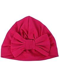 Vi.yo Sombrero de Anudado con Lazo Invierno del bebé Niños Chicas Chicos Tejido  Gorro d5f4f9f0ee0