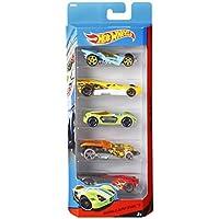 Hot Wheels - Pack de 5 vehículos (modelos variados) (Mattel 1806)