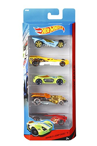 Hot Wheels 5 Vehicle Pack (Pack may vary)