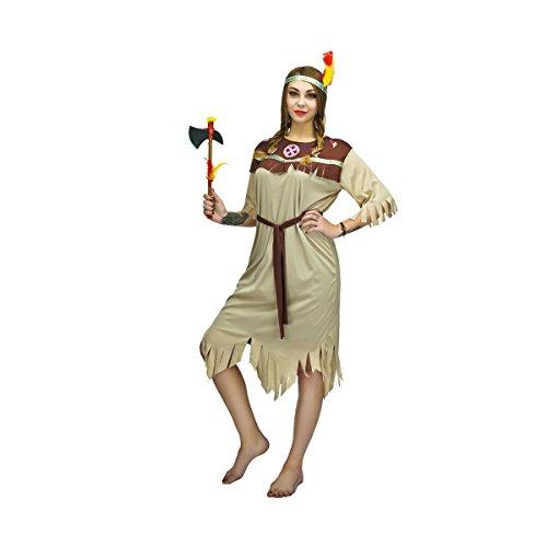 SEA HARE Adult Frauen Indianer Indianer Kostüm