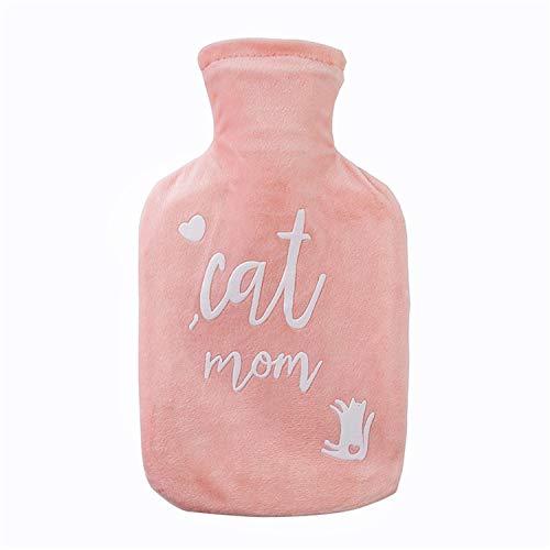 Portable Cartoon große süße abstrakte Katze Wärmflasche, Plüschjacke, wassergefüllte explosionsgeschützte Handwärmer, Winter Geschenk -