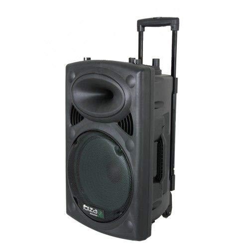 Ibiza PORT10VHF-BT - Sistema de sonido port?til y aut?nomo de 10