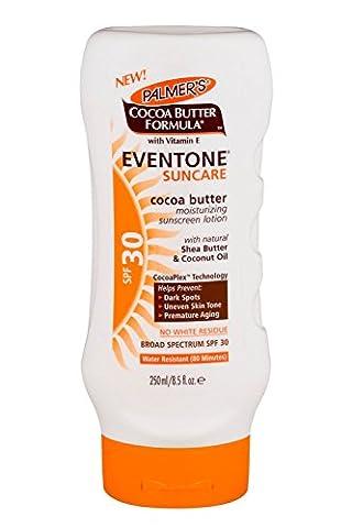 NEW Palmer's Cocoa Butter Formula Eventone Suncare SPF30 Lotion 250ml