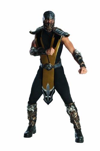 Scorpion Kostüm für Herren, Größe:L (Kostüm Von Scorpion)