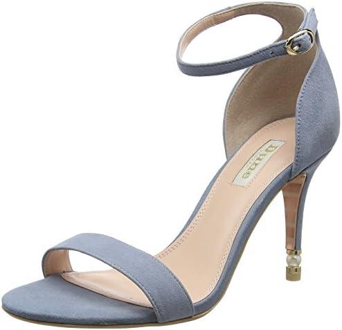 Dune Moira, Zapatos de Tacón con Punta Abierta para Mujer