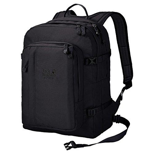 Jack Wolfskin Berkeley Rucksack, Black, ONE - Lehrer-notebook-rucksack