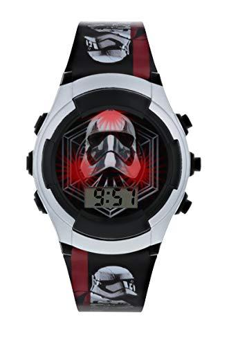 Star Wars Reloj Niños de Digital con Correa en PU SWJ4009