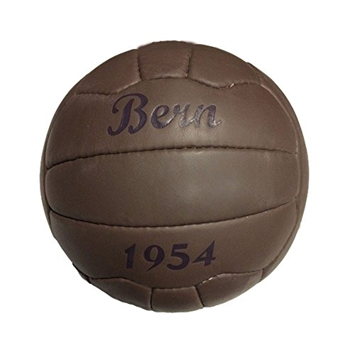 Fussball \'BERN 1954\' Retroball Nostalgieball - Echtes Leder