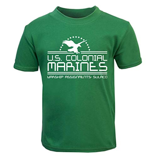 Alien US Colonial Marines Baby and Toddler Short Sleeve T-Shirt (Aliens Colonial Marine Kostüme)