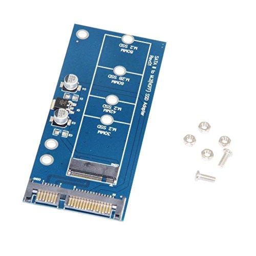 H HILABEE M2 NGFF SSD Solid State Festplatte ToSATA Converter Adapter Karte