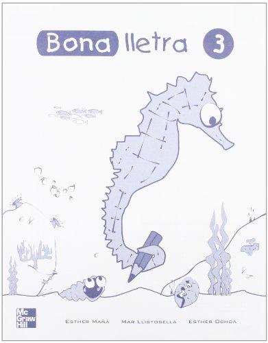 Bona Lletra - Cuaderno De Trabajo 3 - 9788448130510