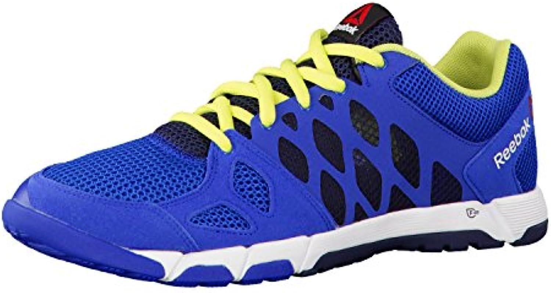 REEBOK Men ONE Trainer 2.0 Sportschuhe Fitnessschuhe blau/gruumln Gr. 41