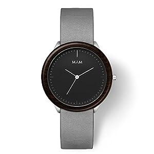 MAM Originals · Stainless Dark | Relojes de hombre | Diseño minimalista | Creados con madera sostenible y acero inoxidable reciclado de MAM Originals