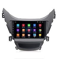 Car Navigation, 1G + 16G Android 9.0 Car DVD Player For Hyundai Elantra 2011-2013 Car Radio GPS Navigation WIFI RDS IPS Multimedia Player 2din
