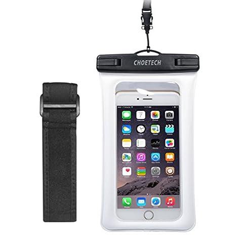 Brassard Etanche Iphone 5s - CHOETECH Housse Etanche 6 Pouces avec un