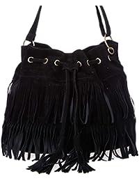 aimerfeel-femmes Swedine sociaux glands sac à bandoulière sac à bandoulière / seau, 3 couleurs