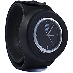 Original Black Slappie Slap Watch (BBC Dragons Den Winner) Adults/Kids Size Large