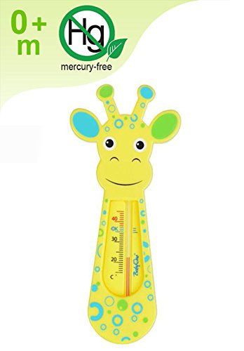 NEW Baby Safe Floating Bath Thermometer - GIRAFFE Test