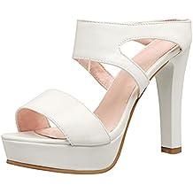 Sandali bianchi per donna Magideal 6DEKId