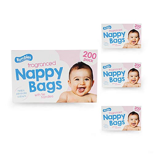 Nappy bags Jumbo Box Original- 4 x 200 pack (800 in total) Test