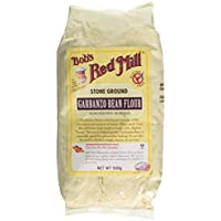 Bobs Red Mill Gluten Free Garbanzo Flour 500 g (order 4 for trade outer)
