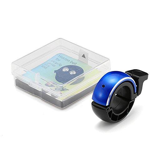 Fahrradklingel Laut,SGODDE O Design Fahrradglocke Radfahren Fahrrad für Alle Fahrrad (2 Farben,Lenker Alarm Horn Ring 22.2-24mm) - 6