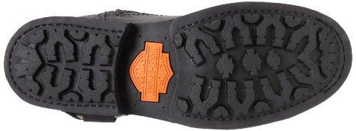 Harley Davidson Biker Boots Ingegnere Josh D93114 Nero Nero Black