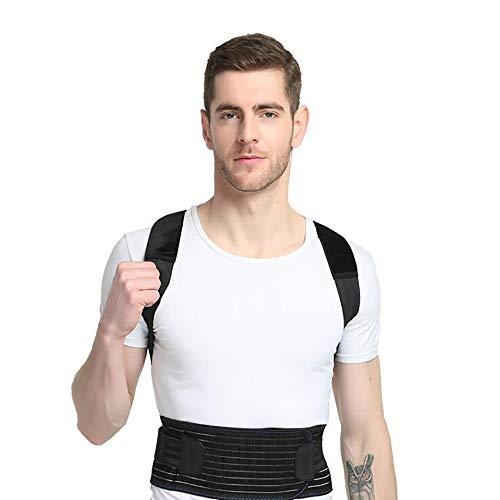 Gerade Durch Crossover (BBJZQ Back Haltungskorrektur,einstellbare Posture Corrector,2 Harte Flache Streifen Auf Der Rückseite Und Atmungsaktives Material Verformt Sich Nicht Leicht)
