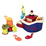 B toys – Fish N Splish Tub Toys Set – BPA Free 13-Pieces Bath Toys for Toddlers and Babies 12m+ (13-Pcs)