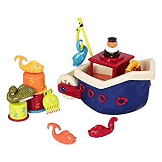 B toys - Fish N Splish Tub Toys Set - BPA Free 13-Pieces Bath Toys for Toddlers and Babies 12m+ (13-Pcs) (B002YITFB6) | Amazon price tracker / tracking, Amazon price history charts, Amazon price watches, Amazon price drop alerts