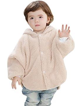 Happy Cherry Baby Kleinkind Kapuze Cape Umhang Warm Poncho Herbst Winter Mantel Kinder Mädchen Jungen 6-24 Monate...