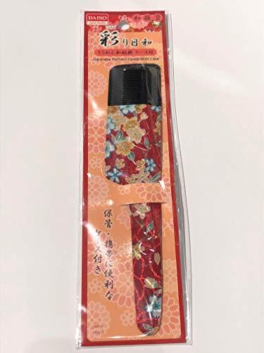 Daiso D-027 No. 31 - Peine japonés con funda
