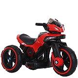 Lvbeis Kinder Elektro Motorrad 6 Volt Akku Motorcycle Musik Kindermoped Kleinkinder Motocross