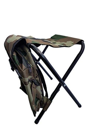 Rucksack Klappstuhl (Tragbare Outdoor Camping Wandern Angeln Klappstuhl Stuhl mit Rücksack Sitz Gargen)