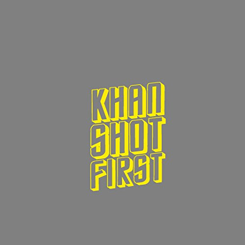 Khan Shot First - Herren T-Shirt Schwarz