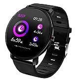 LYY Fitness Tracker, Impermeabile Braccialetto Fitness Cardio Frequenzimetro da Polso Sportivo Orologio Contapassi e Calorie Compatibile con iOS Android