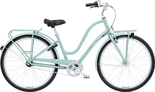 Electra Townie Commute 7i EQ Ladies Mineral Blue mit LED Beleuchtung -