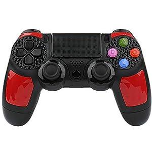 HQD PS4 Controller Wireless DoubleShock mit Li-Ion-Akku 1000 mAh für PlayStation 4. Kompatibel mit PlayStation 4/Slim/Pro, PC/Windows und PlayStation TV/SMART TV.
