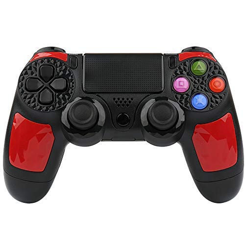 HQD PS4 controller wireless di alta qualità con DoubleShock 4 e batteria agli ioni di litio con 1000 mAh di capacità per PlayStation 4. Compatibile con PlayStation 4/Slim/Pro, Windows e PSTV/SMART TV