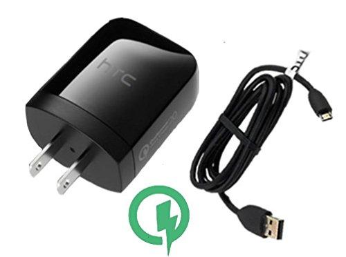 Ladegerät Set für Celkon Millennia Q450mit micro-usb 2.0Ladegerät Daten-Kabel. (Htc Tmobile Handys)