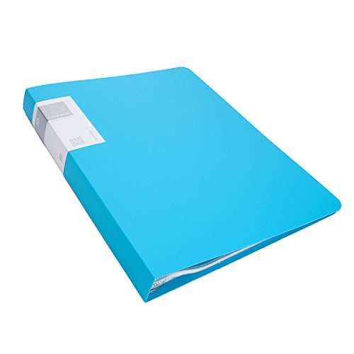 A3 Presentation Display Book Dateiordner Expanding File Folders Projektordner Organisieren Von Dateien Für Newspaper Scrapbook Sheet Music Conference,Blue-60Pockets