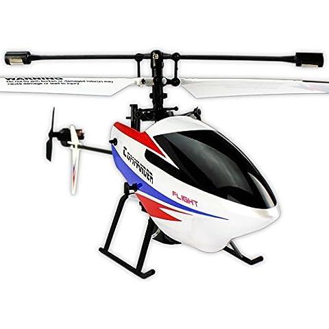 Helicóptero Rc Wltoys V911 pro V3 4Ch 2.4 Ghz. | Tamaño 26cm.