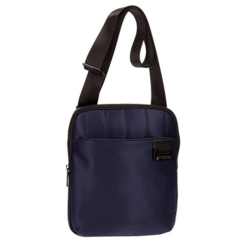 Beverly Hills Polo Club Bolt Sac bandoulière, 27 cm, 1.78 liters, Bleu (Azul)