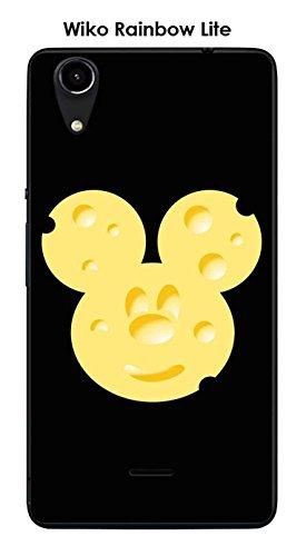 Coque Wiko Rainbow Lite design Mickey