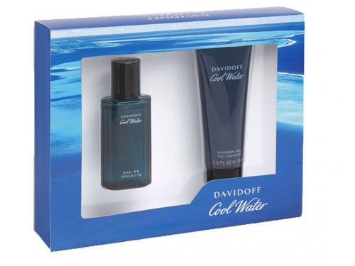 Set, 2- teilig: Davidoff Coolwater Men Edt 40 ml + Duschgel 75 ml