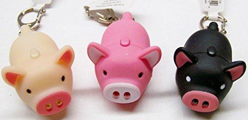 Aeromdale Oink Piggy Light & Sound –, Schlüsselanhänger, 3Stück
