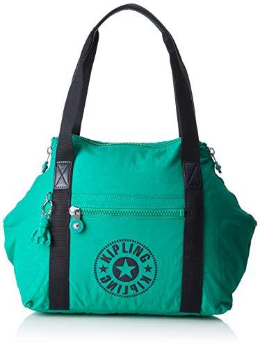 Kipling - Art Nc, Bolsos maletín Mujer, Verde (Lively Green)