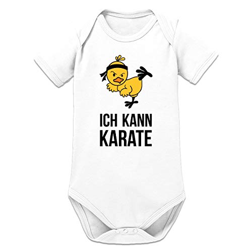 Shirtcity Ich kann Karate Baby Strampler by