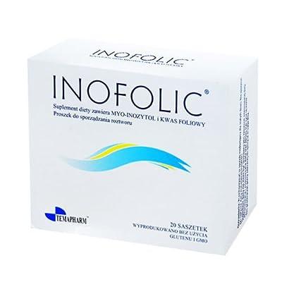 INOFOLIC 60 Sachets PCOS Treatment, Inositol & Folic Acid; Ovulation from TEMAPHARM